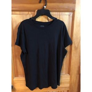 Talbots black shirt